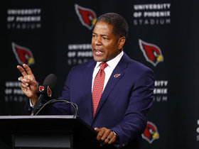 Watch: Steve Wilks on if Larry Fitzgerald will return: 'We would love to have him back'