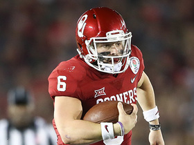 Watch: Mike Mayock analyzes why Baker Mayfield is a 'legitimate potential first round pick'