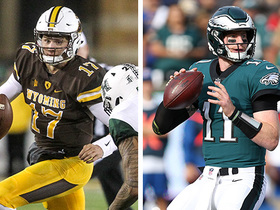 Watch: Mike Mayock explains why Josh Allen is just as talented as Carson Wentz