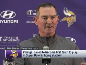 Mike Zimmer not sure who Vikings' starting QB will be next year