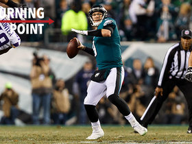 Wentz's mic'd-up reaction to Foles' flea-flicker TD | 'NFL Turning Point'