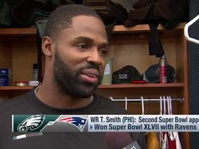 Torrey Smith on Super Bowl: 'Don't make it anything bigger than what it is... it's still a football game'