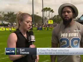 Earl Thomas explains why he doesn't 'feel comfortable' playing without long-term deal