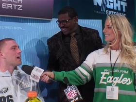 Zach Ertz: 'Julie is the best athlete in the family'