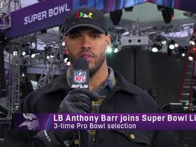 Anthony Barr on Vikings' QB situation: Any of the guys on our roster can lead us to a 'great season''