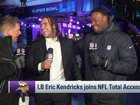 Vikings' Eric Kendricks is 'still a little salty' his brother's Eagles beat them