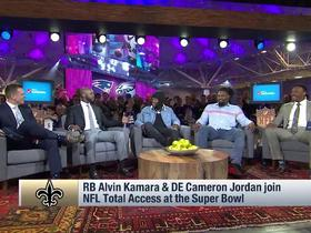 Alvin Kamara, Cameron Jordan explain how the Saints elevated their play this season