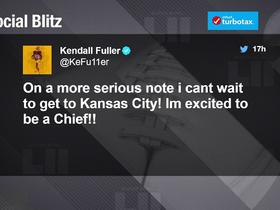 Fuller tweets after finding out he's mystery player traded to Chiefs