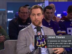 Adam Thielen explains why Randy Moss made him want to play WR