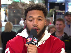 Marshon Lattimore: I told Marcus Williams to keep his head up