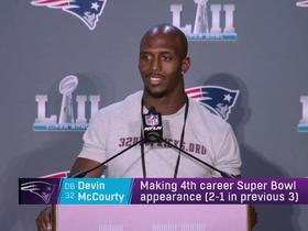 Devin McCourty expertly deflects request for Super Bowl tickets