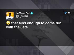 Jamal Adams responds to Le'Veon Bell's unfavorable tweet about the Jets
