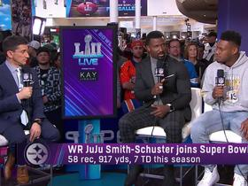 JuJu Smith-Schuster talks about influence from A.B. and Le'Veon Bell
