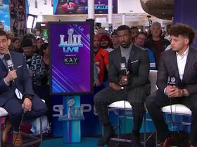 Patrick Mahomes' full interview on 'Super Bowl Live'