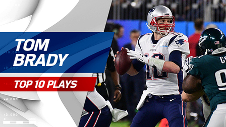 Top 10 Tom Brady throws | Super Bowl LII - NFL Videos