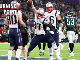 Rob Gronkowski demands the Eagles' attention in the second half | 'NFL Turning Point'
