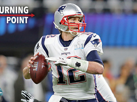 Tom Brady gives the Patriots their first lead | 'NFL Turning Point'