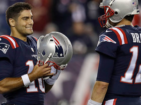 The main trait Garoppolo says he learned from Brady