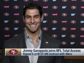 Garoppolo on Pats' playoff run: 'I was working hard for those playoff checks'