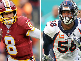Football, cereal and rainbows... just some of the things Von Miller, Kirk Cousins have in common