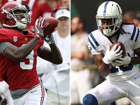 Jones: Ridley is a 'bigger, stronger, faster' T.Y. Hilton