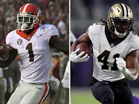 Mike Mayock likens Georgia RB Sony Michel to Alvin Kamara