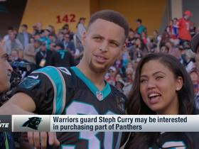 Watch: Steph Curry says talks are 'ongoing' for potential Panthers ownership