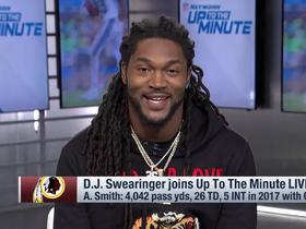 Watch: D.J. Swearinger ready to 'get some championships going' with Alex Smith at QB