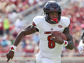 Watch: Would Lamar Jackson be a better fit at QB or WR in the NFL?