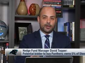 Watch: Hedge fund manager David Tepper expected to bid for Panthers