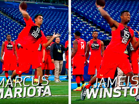 Watch: Marcus Mariota vs. Jameis Winston | This Day in NFL Scouting Combine History