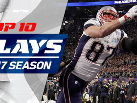 Watch: Top 10 Rob Gronkowski plays | 2017 season