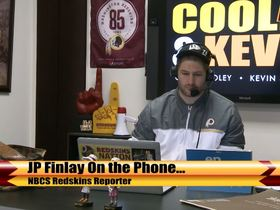 Watch: Redskins Radio: Cooley: JP Finlay Says Redskins Won't Overspend For Free-Agents