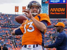 Watch: Garafolo: Broncos would be lucky to get anything more than a seventh-round pick for Siemian