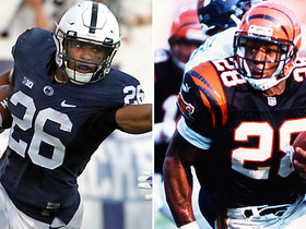 Watch: Who is Saquon Barkley's best pro comparison?