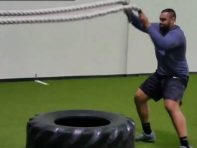 Watch: K.J. Malone trains for the Combine