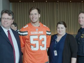 Watch: Browns host annual Police Chiefs Luncheon at First Energy Stadium