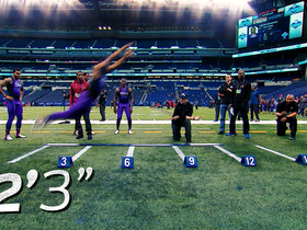 Watch: Byron Jones Sets Broad Jump World Record | This Day in NFL Scouting Combine History