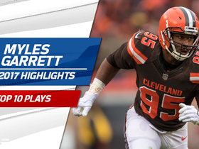 Watch: Top 10 Myles Garrett plays | 2017 season