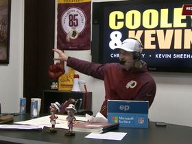 Watch: Redskins Radio: Cooley Will Be TEs