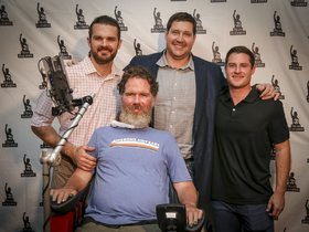 Watch: Steve Gleason receives 2018 Dave Dixon Leadership Award