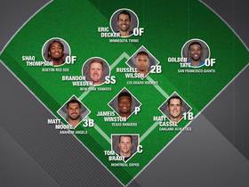 Watch: Gridiron to the diamond: What does NFL's all-baseball team look like?