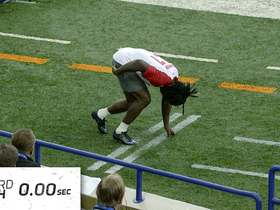 Watch: Chris Johnson runs 4.24 40-Yard Dash | This Day in NFL Scouting Combine History