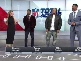 Mike Daniels joins 'NFL Total Access' to talk Marcus Peters