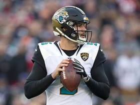 Watch: Rapoport: Jags rewarded Bortles after gaining 'renewed confidence'