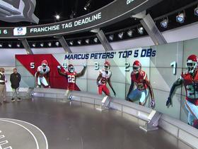 Marcus Peters ranks Marcus Peters as the top 5 CBs in the league