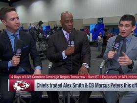 Jeffri Chadiha: Alex Smith, Marcus Peters trades signal Chiefs are building for two years from now