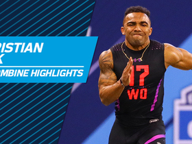 Watch: Christian Kirk 2018 NFL Scouting Combine workout