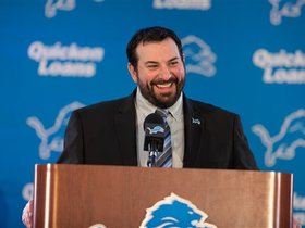 Steve Longa: I'm excited for all the schemes Matt Patricia will throw at us