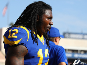 Rapoport: Rams will try 'aggressively' to keep Sammy Watkins on roster
